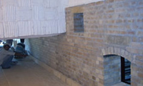 Acid Proof Brick Lining Anti Corrosive Lining Refractory